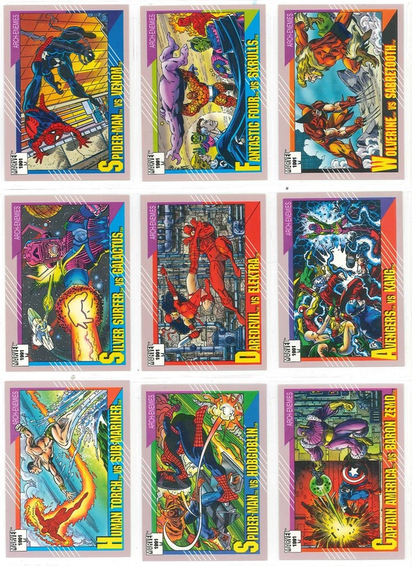 Marvel Universe The Official Marvel Super Heroes Trading Cards Series