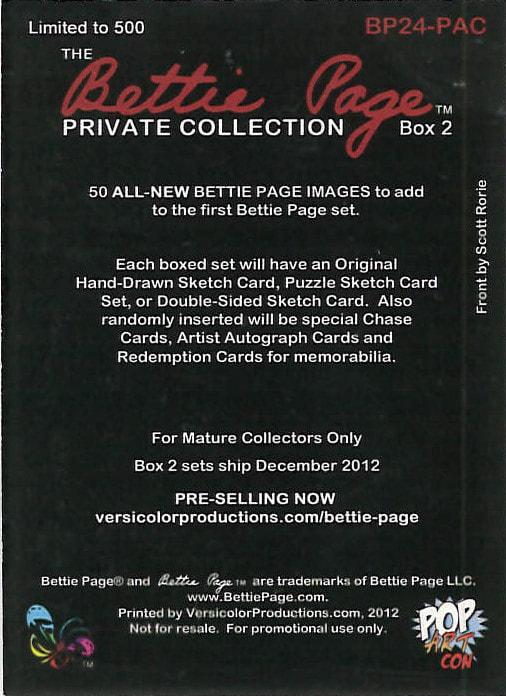Dead World Breygent Promo 1 MATTE BACK ONE SHIP FEE PER ORDER CHEAP PROMO CARD